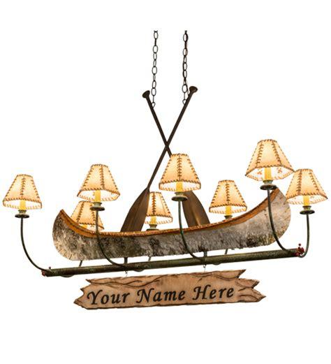 Canoe Chandelier Canoe Lighting