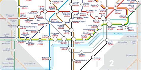 the underground map the underground map of salaries indy100