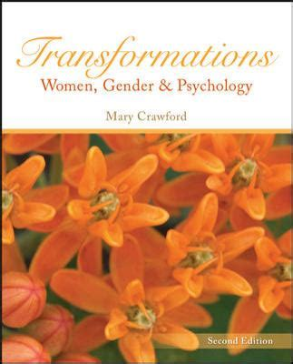 transformations gender and psychology 2nd edition