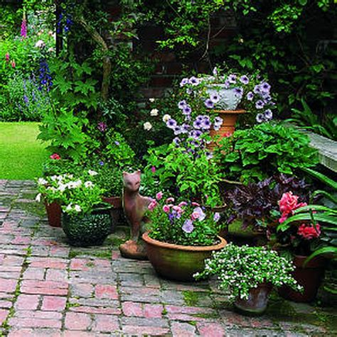 Garden Inspiration Ideas Decoration Amazing Garden Ideas With Flower Gardening In Container