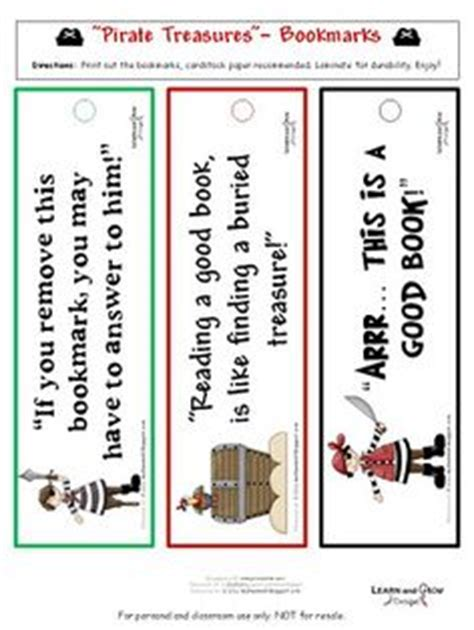 printable pirate jokes pirate bookmarks pirate bookmarks free printable ideas