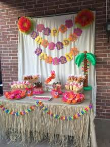 theme decorations luau hawaiian birthday ideas hawaiian luau