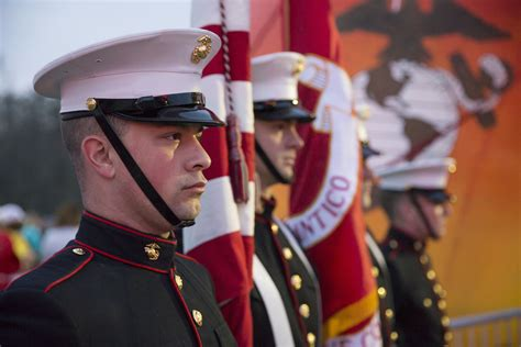marine color guard marines mil community relations