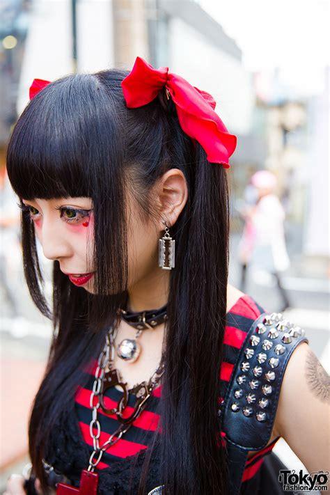 harajuku goth punk style  twin tails algonquins tutuha demonia hellcatpunks