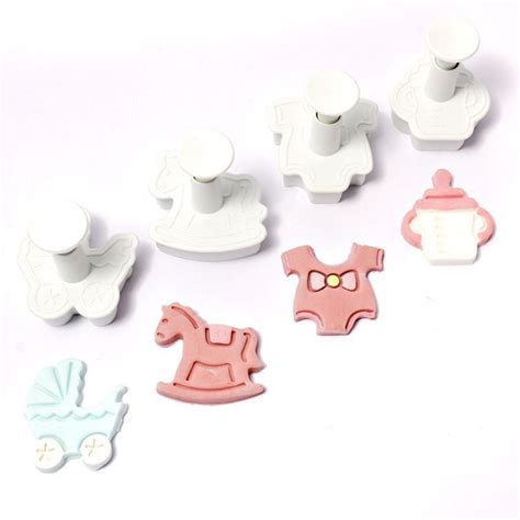 Fondant Smoother Set By Sugarcraft fondant cutters plungers tools sugarcraft cake