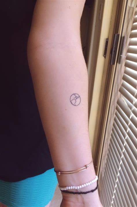 small tattoo photos small earth