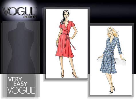 pattern review vogue 8379 sewmasala vogue 8379 wrap dress