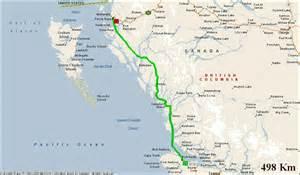 reisverslag canada naar sunny sanctuary campground prince rupert passage