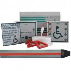 disabled toilet alarms safety