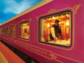 luxury trains of india golden chariot train an opulent mode of luxury travel in