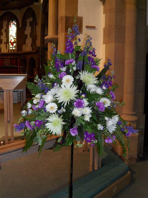 Church Flower Arrangements Pedestal Pedestal Arrangement Floral Art Pinterest Church