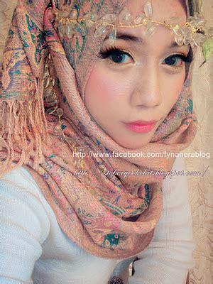 Makeup Tunang Fyna engagement make up inspirations still counting by huda
