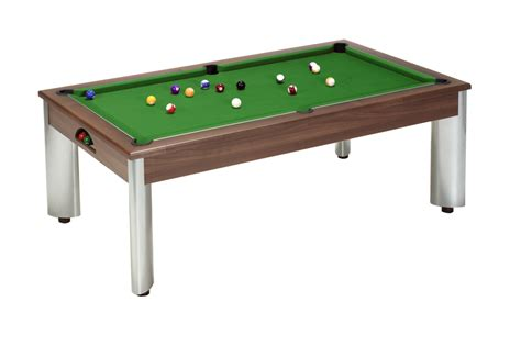 fusion pool dining table walnut 6ft 7ft free
