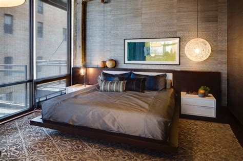 Modern Wallpaper Ideas For Bedroom - urban loft