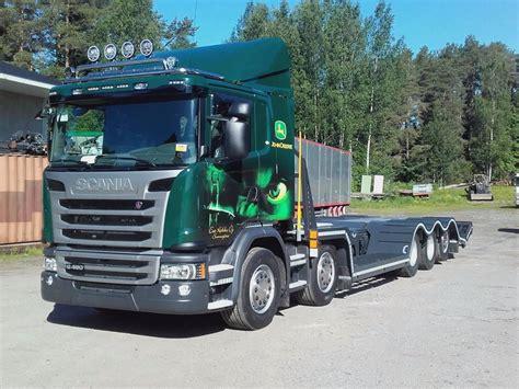 used scania g 490 mets 228 koneen kuljetus auto lavetti other
