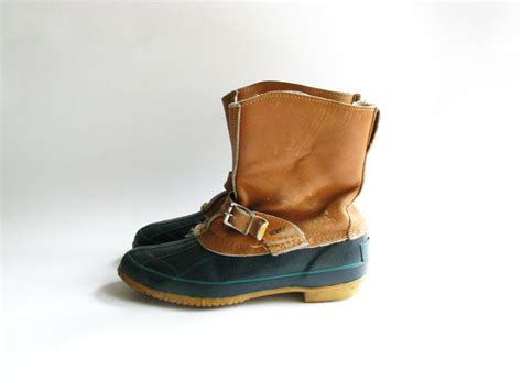 s duck boots vintage s sporto duck boots leather by
