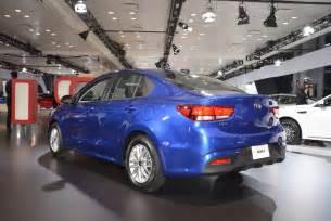 Kia Cars York 2018 Kia Sedan 5 Door Make U S Debut In New York