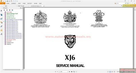 jaguar xj6 parts and service manual cd auto repair manual forum heavy equipment forums