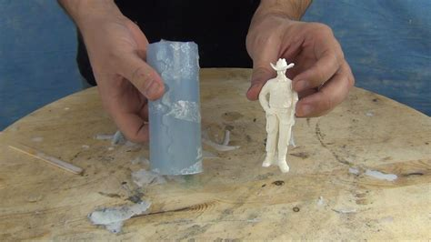 tutorial video making mold making casting tutorial 73 20 figurine mold youtube