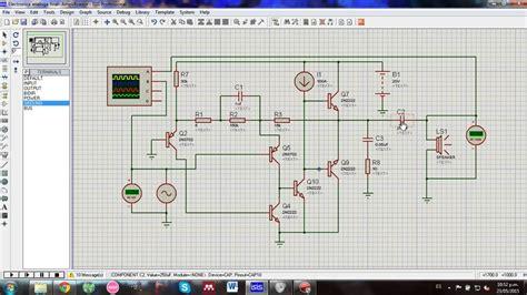 transistor mosfet explicacion circuito lificador de audio 2 w con transistores