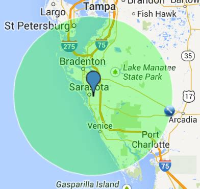 service ta fl map of ta florida and surrounding area 28 images maps