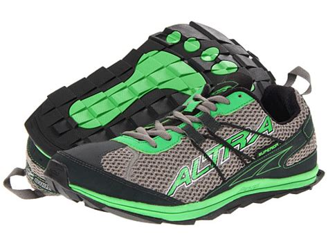 altra zero drop footwear superior gray green 6pm