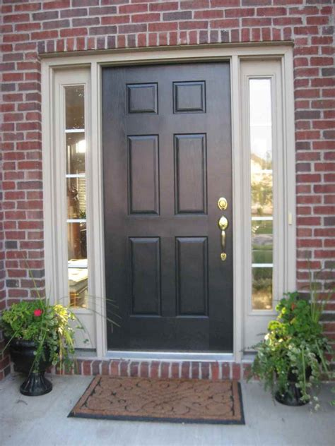 front door colors with red brick decoration design your front door with wonderful colors