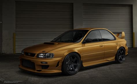 subaru gc8 subaru impreza gc8 by cop creations on deviantart