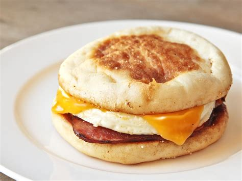 Handmade Breakfast - the food lab building a better egg mcmuffin serious eats