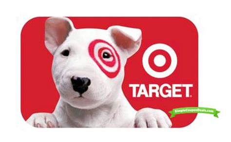 Target Discount Gift Card - target coupon deals save money with target coupons