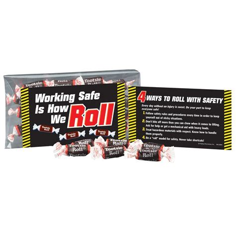 how to your to roll without treats working safe is how we roll tootsie roll 174 treat pack positive promotions