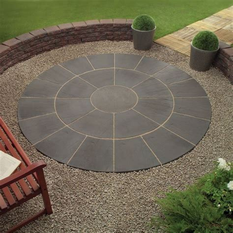 Wood Pavers For Patio Wonderful Grey Color Wood Unique Design Backyard Patio Paver Circle Paver