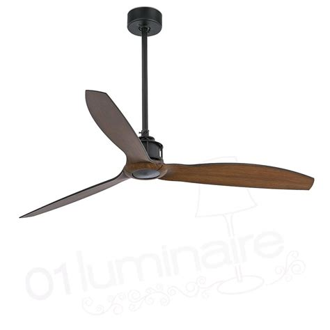 Ventilateur De Plafond Noir by Ventilateur Plafond Just Fan Noir Bois 33395 Faro