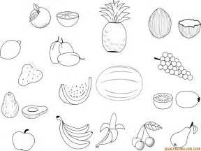 imagenes de frutas para colorear de frutas y verduras para colorear dibujos imagixs pictures
