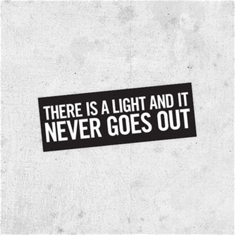 The Smiths There Is A Light That Never Goes Out by The Smiths Quot There Is A Light That From Bestplayever On Etsy