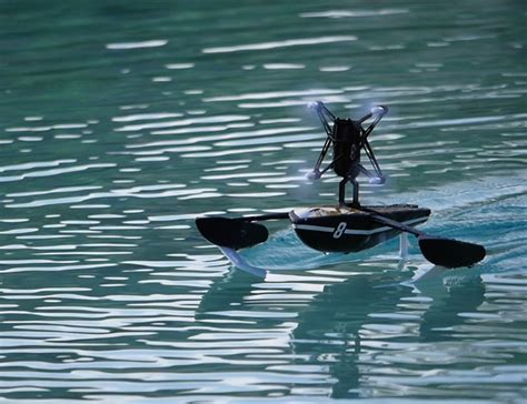 Drone Parrot hydrofoil drone by parrot designed to glide water 187 gadget flow