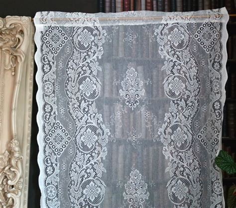 cotton lace curtains jessica a beautiful victorian design c1895 cotton lace curtain