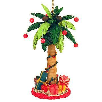 festive palm tree ornament great outdoors animal
