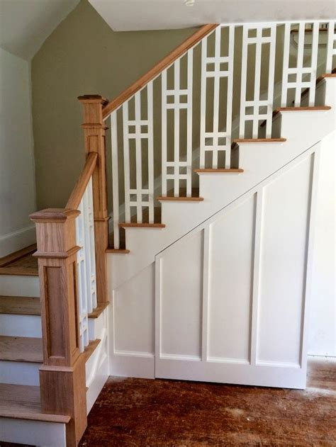 banister styles best 25 craftsman staircase ideas on pinterest