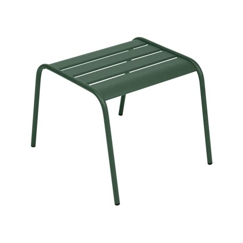 green ottoman coffee table fermob monceau coffee table ottoman cedar green nunido