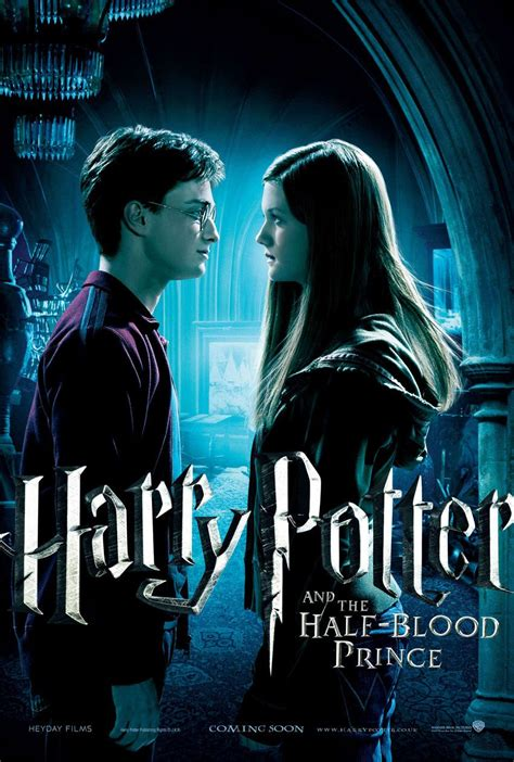 Harry Potter And The Blood Half Prince posters harry potter and the half blood prince feature mr fiend s