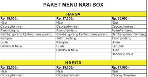 Jessq Rantang Paket Kue Lebaran erna catering terima pesanan paket menu nasi box di