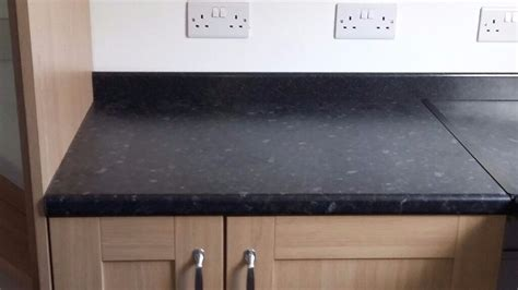 Wickes worktop matt laminate Black Slate as new