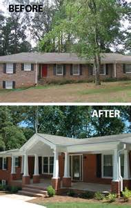convert traditional home to modern 1000 ideas about brick ranch houses on pinterest painted brick ranch painted brick homes and
