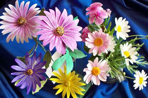 How To Make Tissue Paper Daisies - how to make paper daisies
