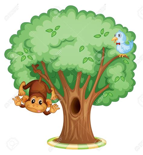 clipart royalty free animals in a tree clipart gucciguanfangwang me