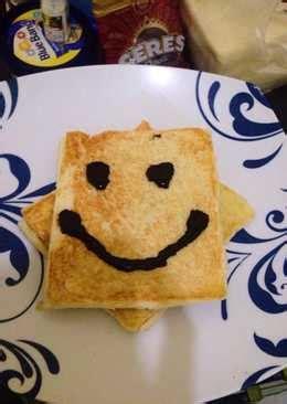 resep menghias roti tawar rumahan  enak