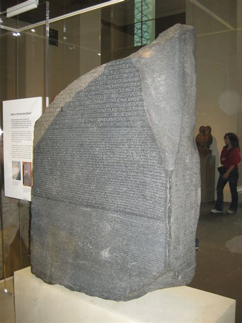 rosetta stone egypt the rosetta stone british museum without the discovery