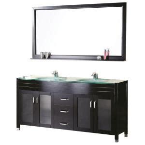 design element waterfall 61 in w x 22 in d vanity in