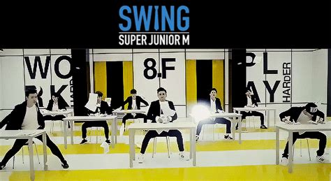 super junior swing super junior m swing henry tumblr
